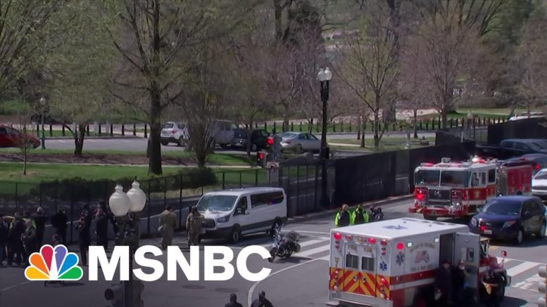 U.S. Capitol Goes On Lockdown Due To External Security Threat | MTP Daily | MSNBC 1