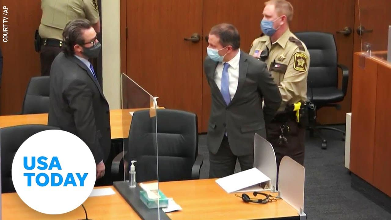 Jury delivers guilty verdict in trial of Derek Chauvin in death of George Floyd | USA TODAY 2