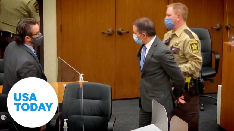 Derek Chauvin trial: Guilty verdict given in George Floyd's death | USA TODAY 1