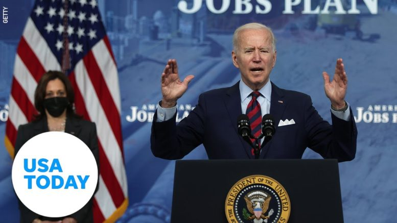 President Biden and VP Harris address nation regarding Derek Chauvin verdict | USA TODAY 1