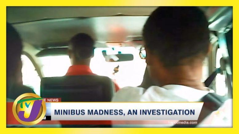 Minibus Madness on Kingston Roads in Jamaica   TVJ News 1