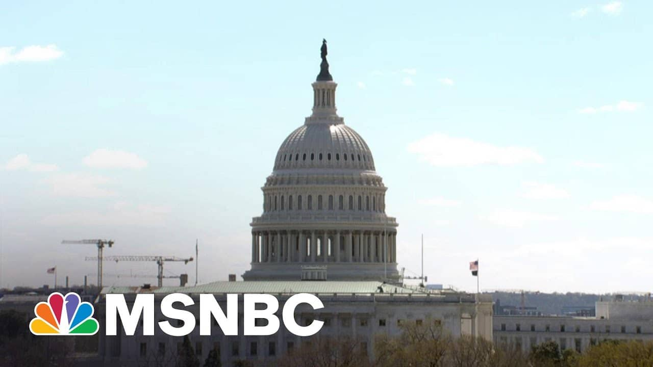 At Least One Person Shot Outside Capitol After Incident   MSNBC 7