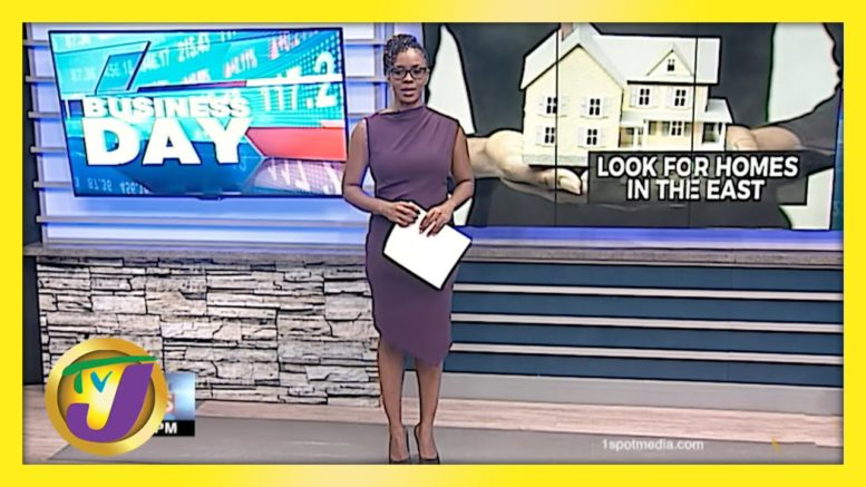 Jamaican Home Seekers Urged to Look to the East | TVJ Business Day - April 19 2021 1