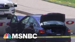 Capitol Suspect Exited Car With A Knife Then Was Shot By Capitol Police | MSNBC 6