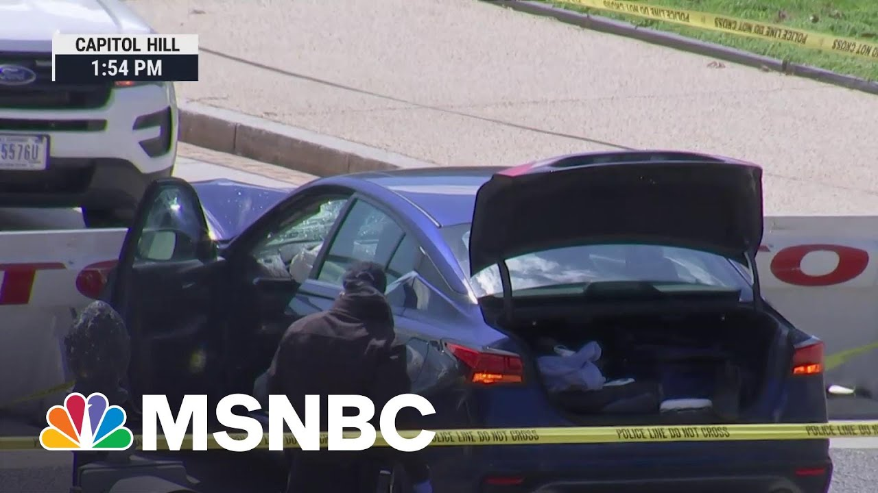 Capitol Suspect Exited Car With A Knife Then Was Shot By Capitol Police | MSNBC 8