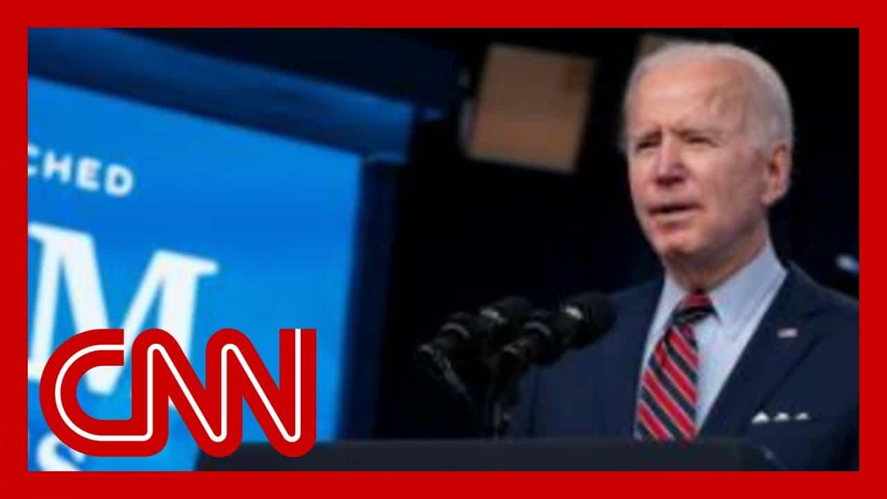 See Joe Biden's remarks as he touts Covid-19 vaccine milestone 5