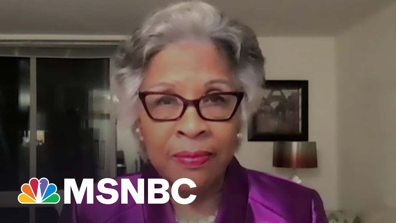 Rep. Beatty: 'This Verdict Helps Us Begin To Change The World'   The Last Word   MSNBC 1
