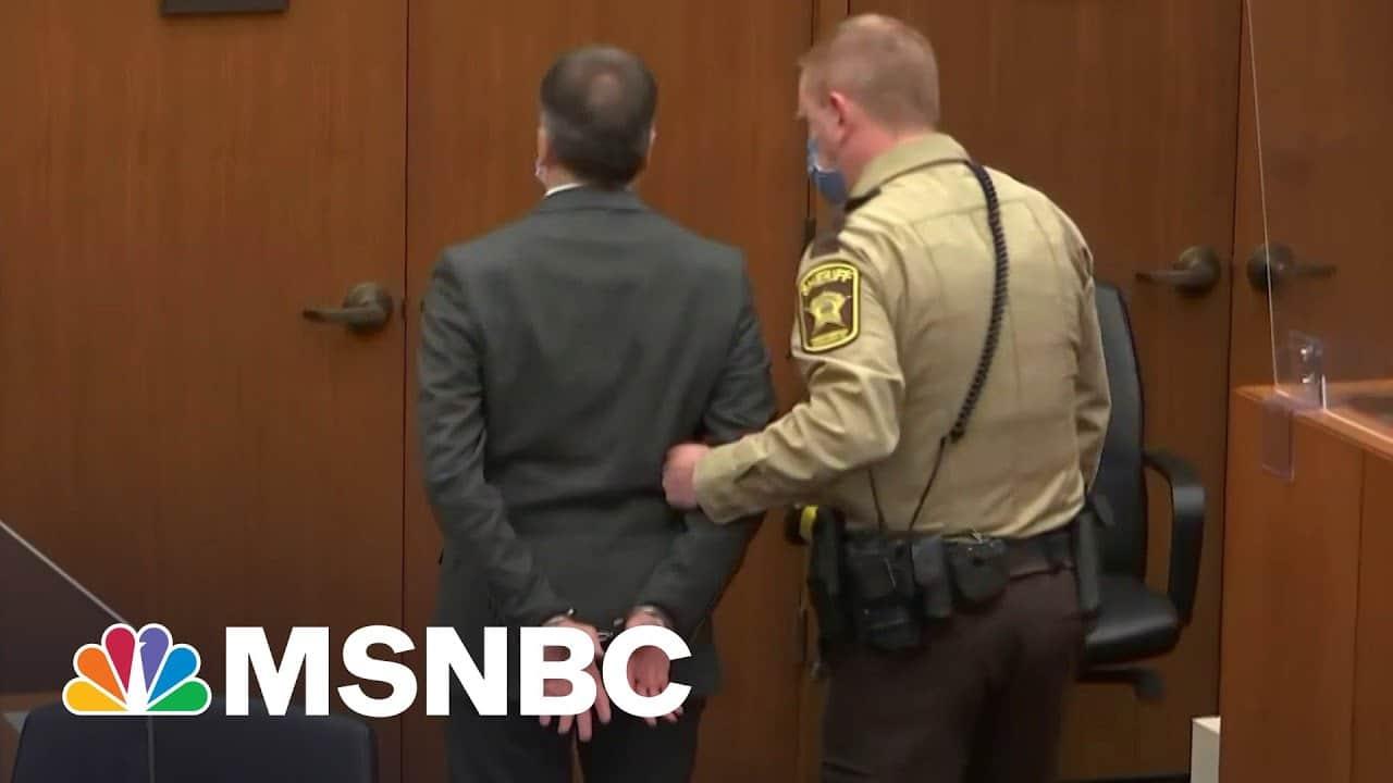 Derek Chauvin Convicted Of Murder   The 11th Hour   MSNBC 6