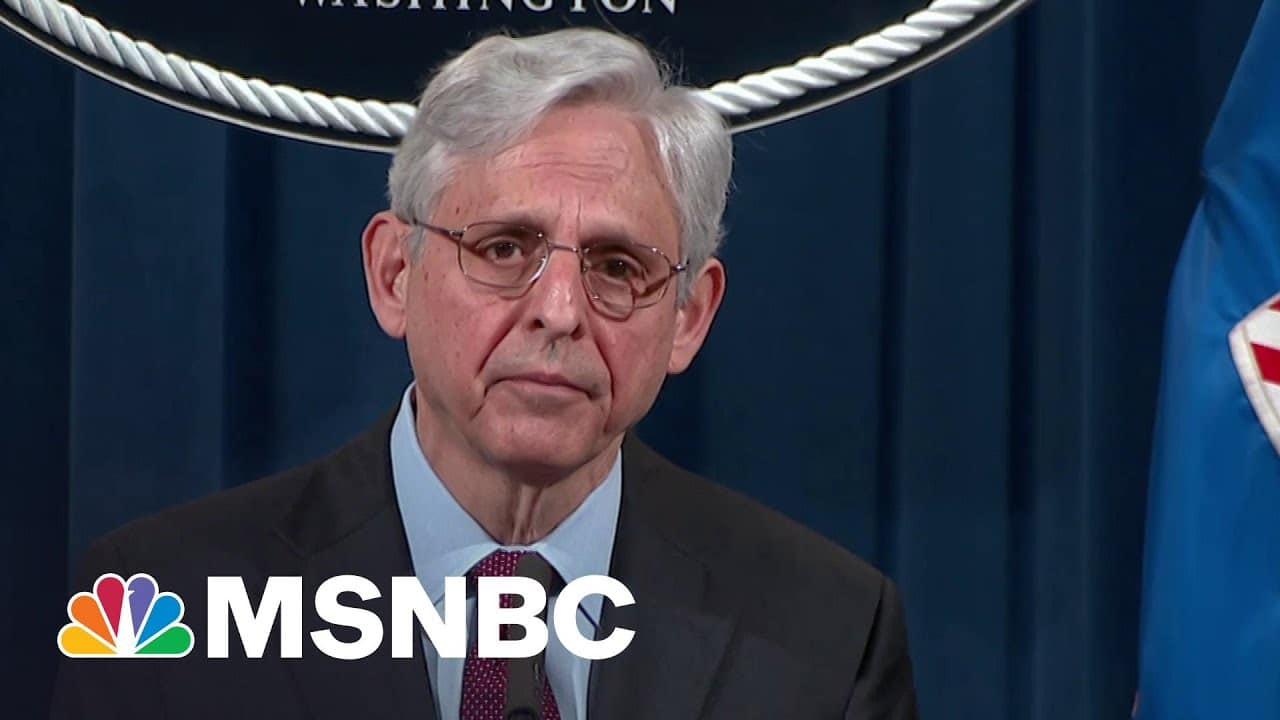 AG Garland Announces 'Comprehensive Review' Of Minneapolis Policing Practices | MSNBC 1