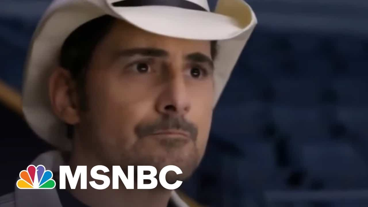 Brad Paisley Encourages Americans To Get Vaccinated, Is Ready To Get Back On The Road | Morning Joe 1