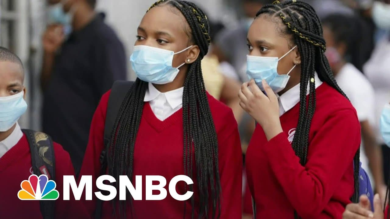 Children Make Up 21 Percent Of New Virus Cases, According To Report | Morning Joe | MSNBC 8