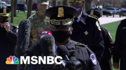 Capitol Police Detail Incident, Confirm One Of Two Responding Officers Has Died | MSNBC 5