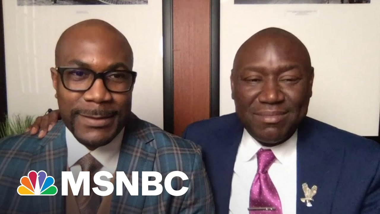 Philonise Floyd: 'Right Now, I'm Excited' | Andrea Mitchell | MSNBC 6