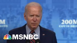 'We Did it': Biden Announces U.S. Has Reached Goal Of 200 Million Covid Vaccinations | MSNBC 1