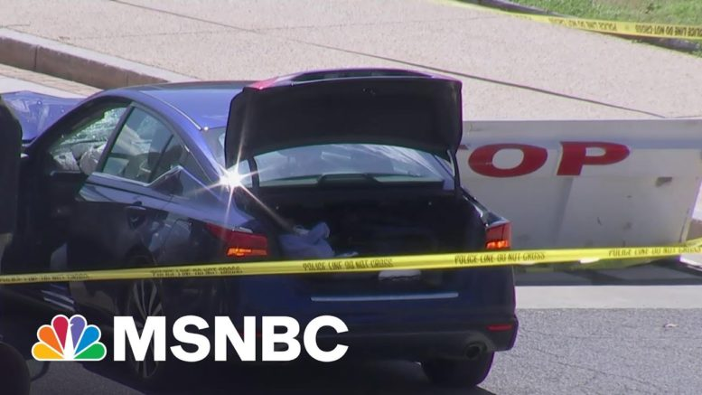 Law Enforcement: Suspect At Capitol Has Died In Hospital After Incident | MSNBC 1