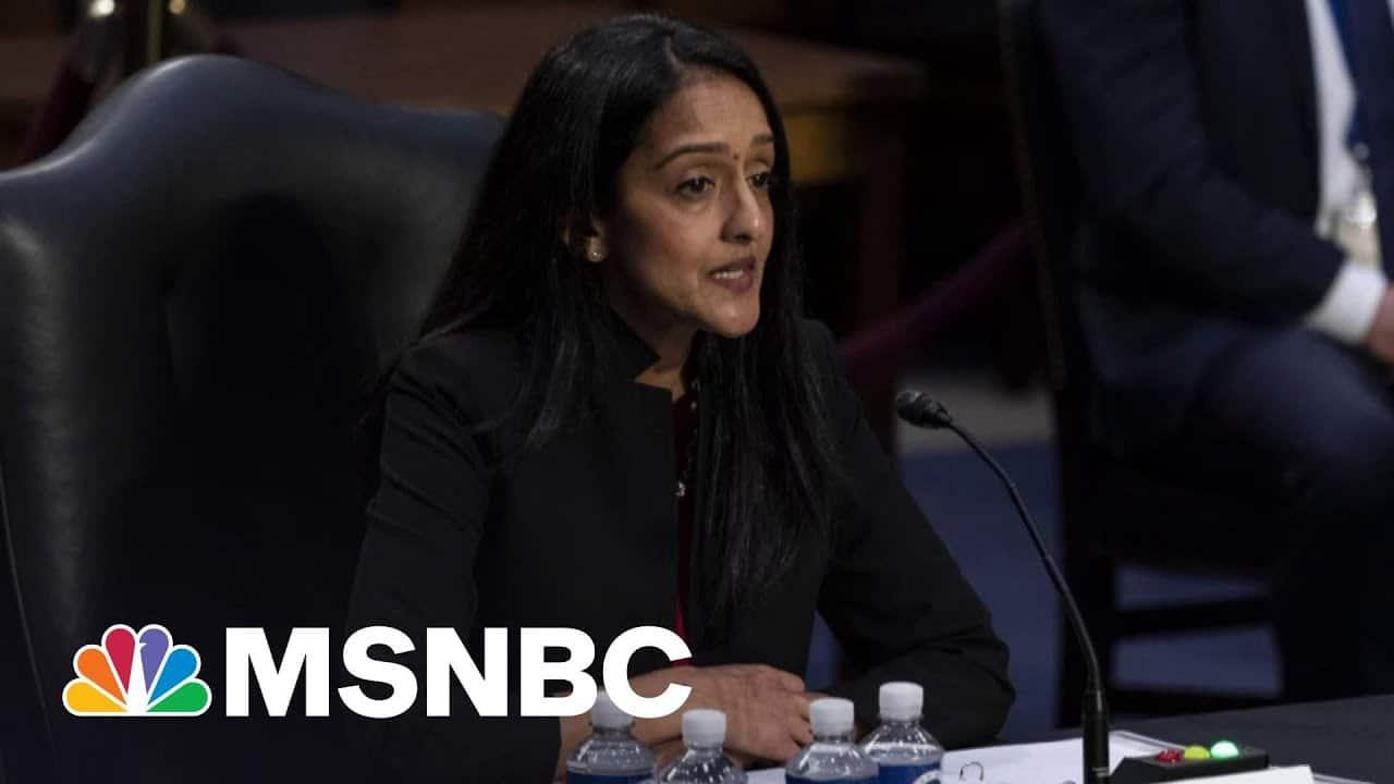 Senate Narrowly Confirms Vanita Gupta To Serve In Justice Department Role | Ayman Mohyeldin | MSNBC 6