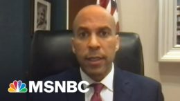 Sen. Cory Booker: How The George Floyd Act Will Provide 'Real Accountability' | All In | MSNBC 4