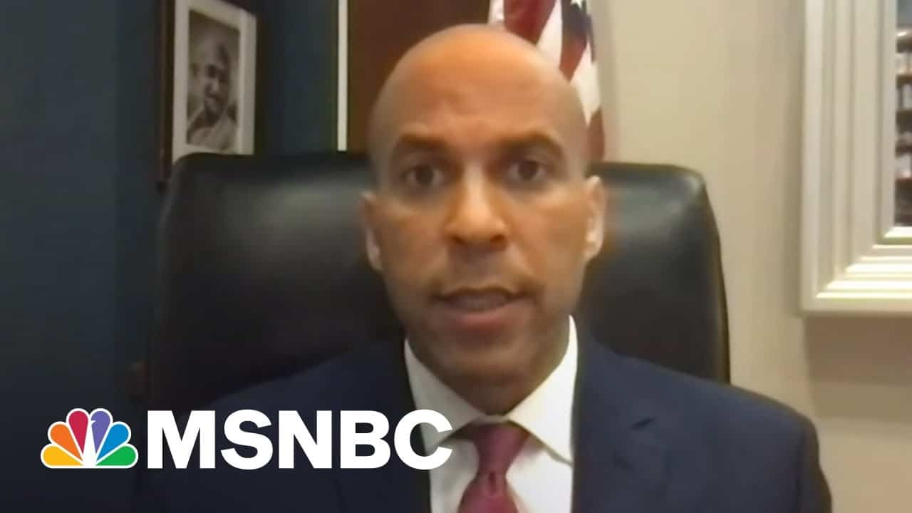 Sen. Cory Booker: How The George Floyd Act Will Provide 'Real Accountability' | All In | MSNBC 2