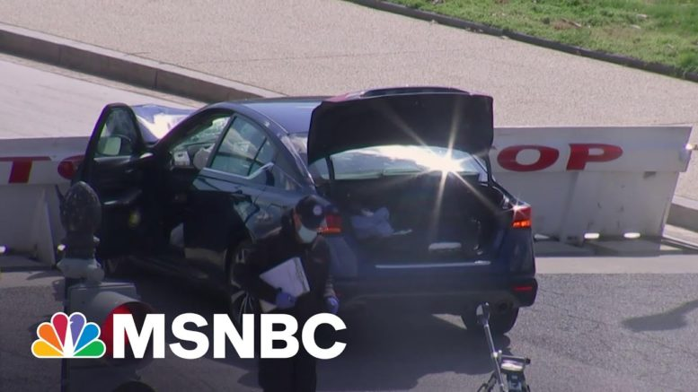 Suspect Involved In Capitol Incident Identified As 25 Year Old Man From Indiana   MSNBC 1