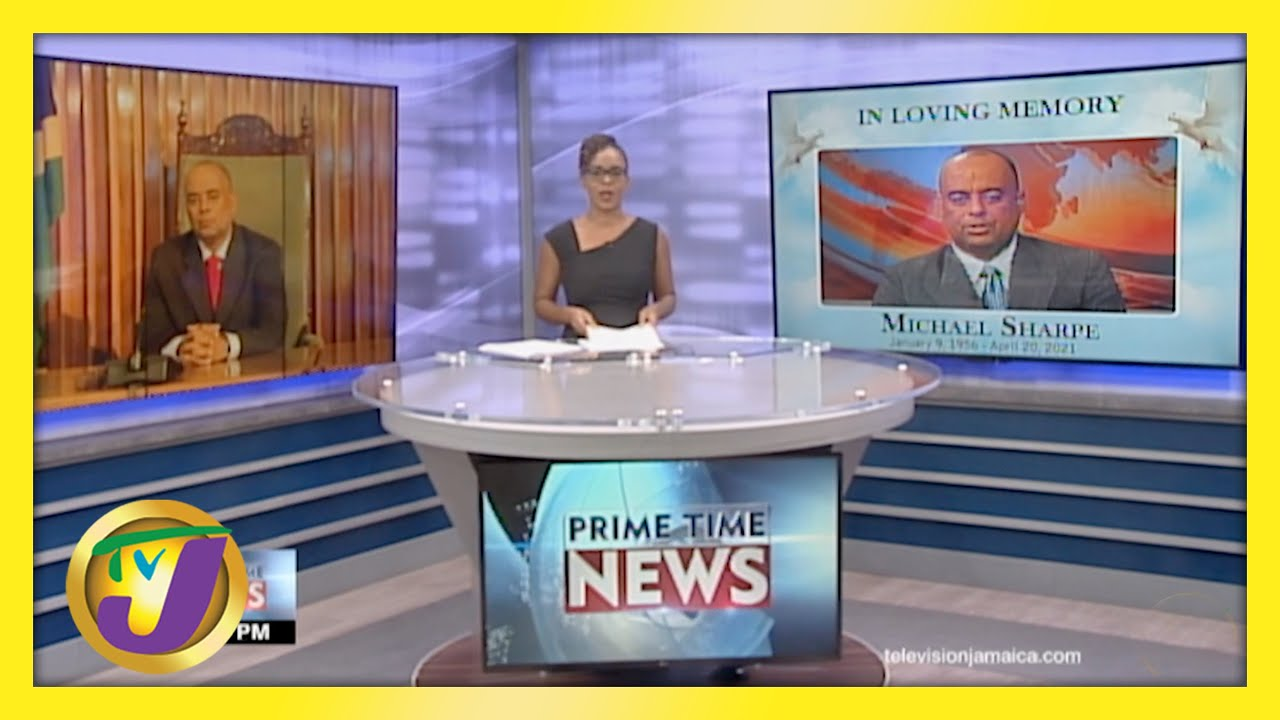 Jamaican News Headline   TVJ News - April 20 2021 1