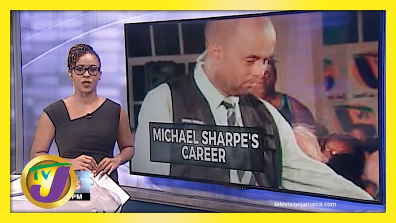 A Look Back at Jamaican Journalist Michael Sharpe's Career   TVJ News - April 20 2021 1