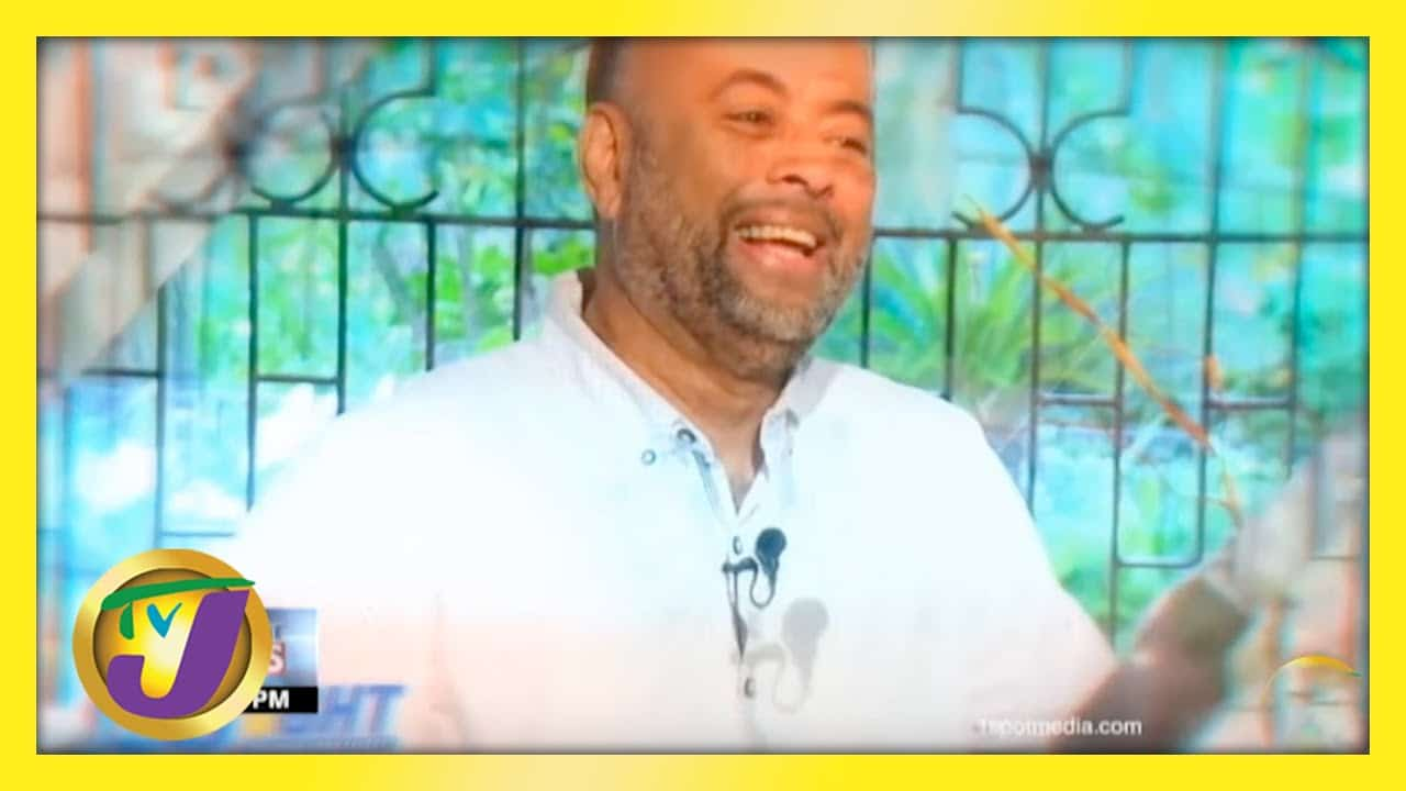Michael Sharpe Jamaican Journalist | TVJ News - April 20 2021 4