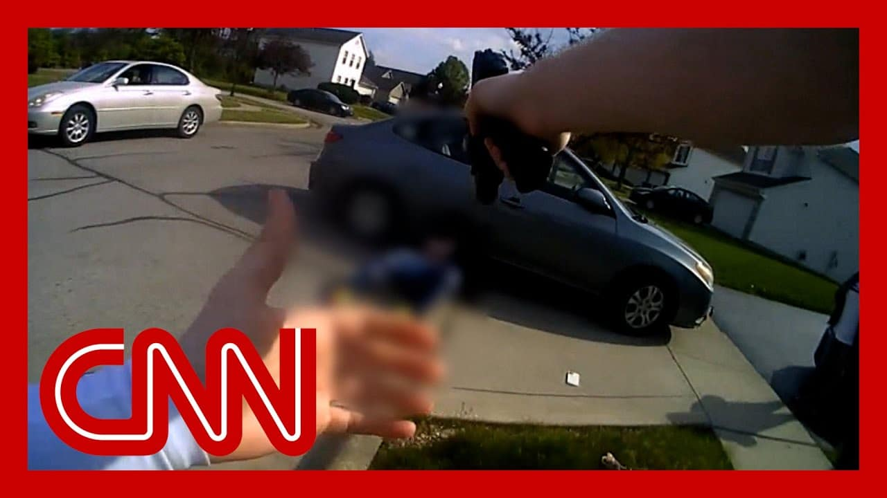 Body cam video shows cop shooting Black teen who had charged two women with a knife 1