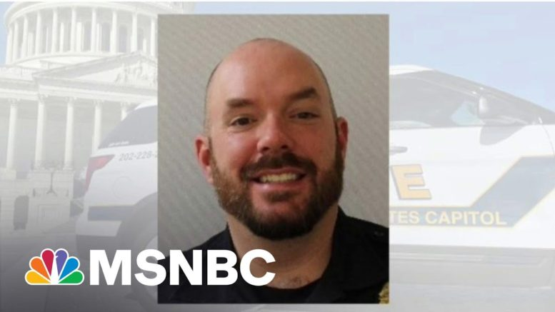 Fallen Capitol Police Officer Identified As William 'Billy' Evans | Deadline | MSNBC 1