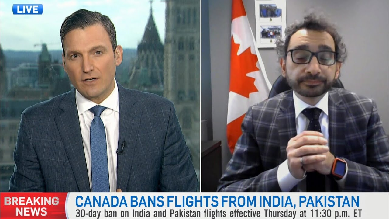 Canada banned direct flights from India. The transportation minister explains why | COVID-19 crisis 1
