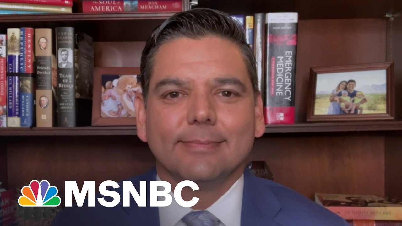 Rep. Raul Ruiz On Improving The Lives Of Hispanic Americans Across Country   The Last Word   MSNBC 1