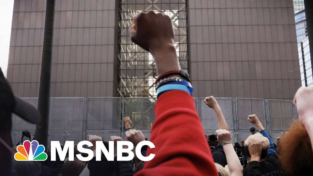 Chauvin Verdict Forces National Conversation On Police Reform | The 11th Hour | MSNBC 1