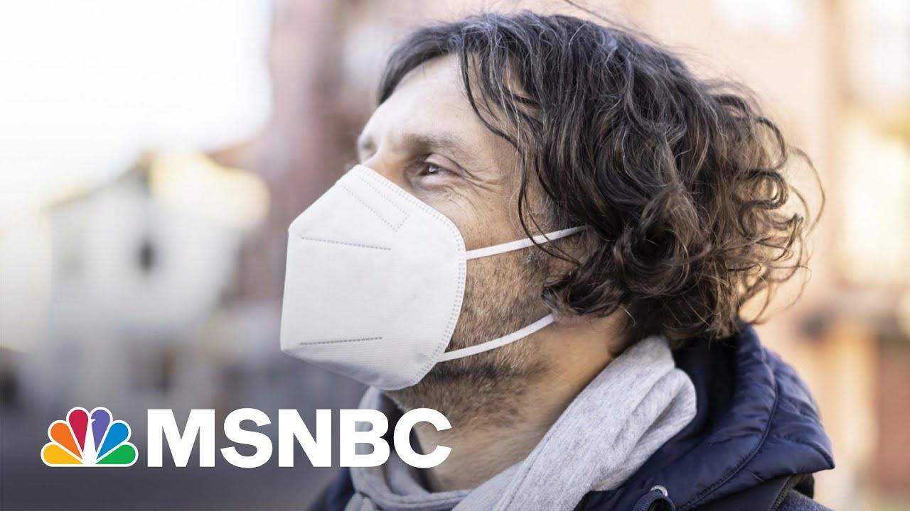 Do You Really Still Need To Wear A Mask If You're Outside?   The 11th Hour   MSNBC 8