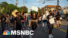 Republican Bills Attack Protest Rights; Wink At Running Over Protesters   Rachel Maddow   MSNBC 2