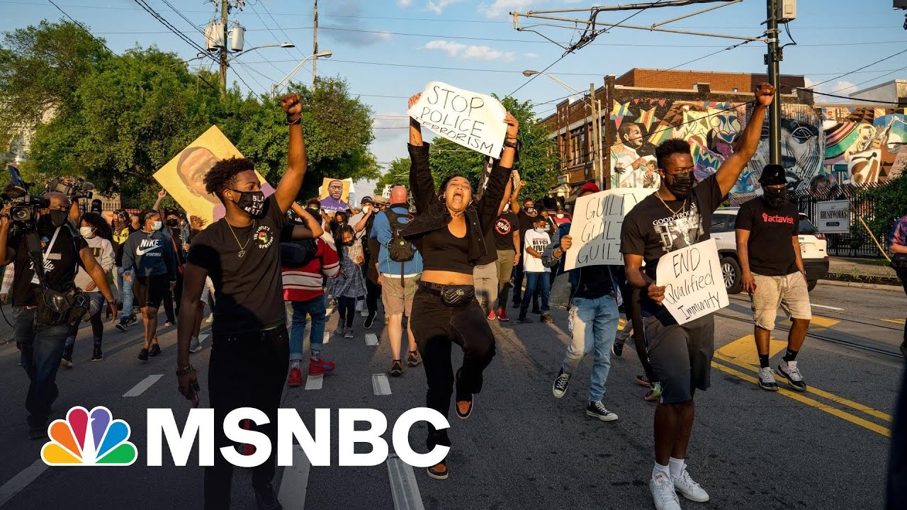 Republican Bills Attack Protest Rights; Wink At Running Over Protesters | Rachel Maddow | MSNBC 1