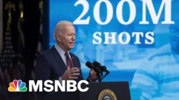 Biden Announces 200M Vaccinations In His First 100 Days | Morning Joe | MSNBC 5