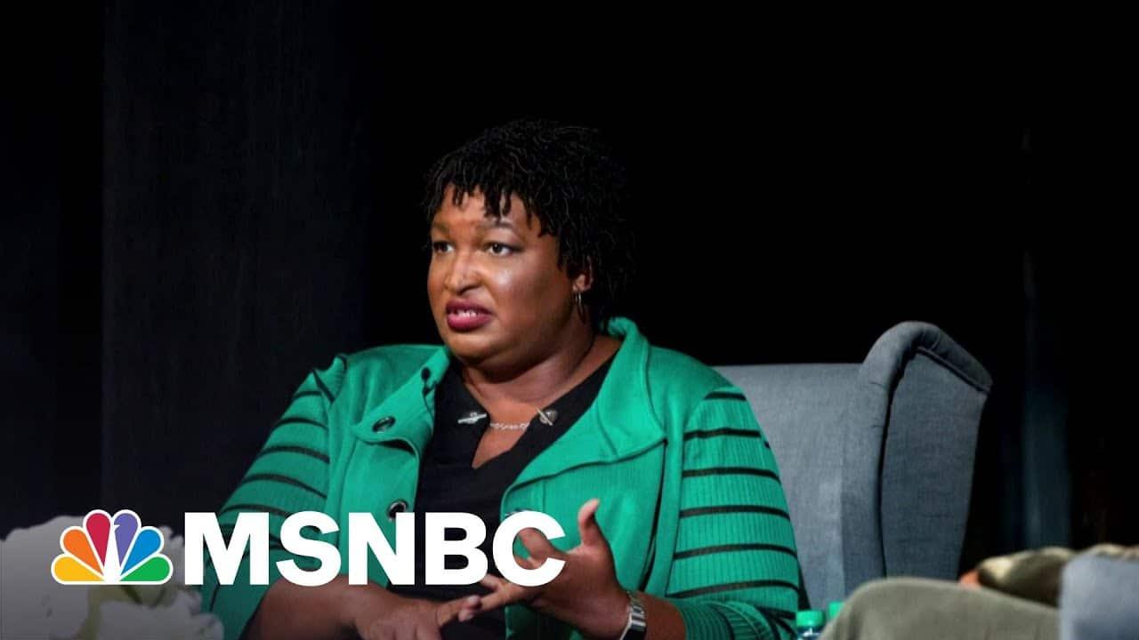 'She Mowed Him Down': Sen. Kennedy Grills Stacey Abrams On Georgia Law | Morning Joe | MSNBC 1