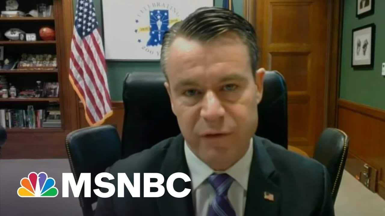 Senator Sees Bipartisan Way Forward On Infrastructure | Morning Joe | MSNBC 7