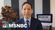 Former CDC Director Explains Drop In Vaccinations Hesitancy Across Country | Stephanie Ruhle | MSNBC 3