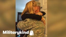 Soldier brings daughter to tears | Militarykind 4