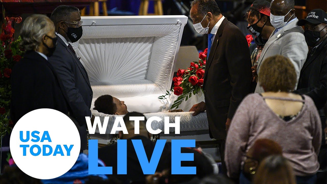 Funeral held in Minneapolis for Daunte Wright, 20-year-old man killed by police (LIVE) | USA TODAY 1