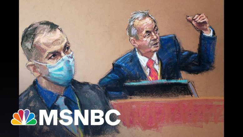 Police Witness: Chauvin's Actions Were 'Totally Unnecessary' And 'Uncalled For' | All In | MSNBC 1
