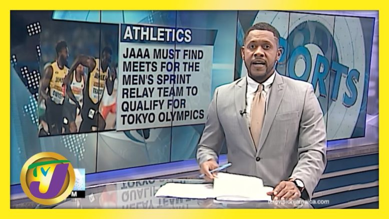 Jamaica Men's Sprint Relay Team yet to Qualify for Olympics - April 21 2021 1