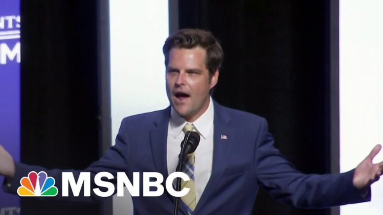 Why Matt Gaetz Is A Product Of The Modern Republican Party   All In   MSNBC 1
