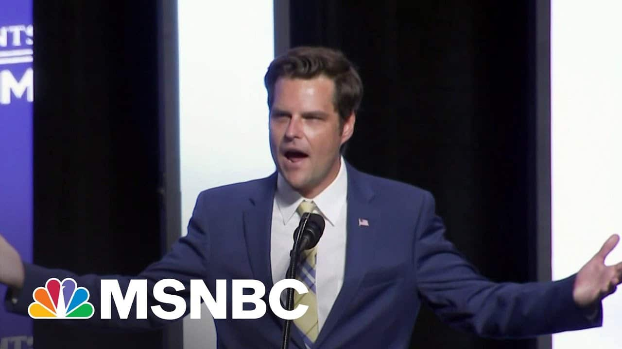 Why Matt Gaetz Is A Product Of The Modern Republican Party | All In | MSNBC 2