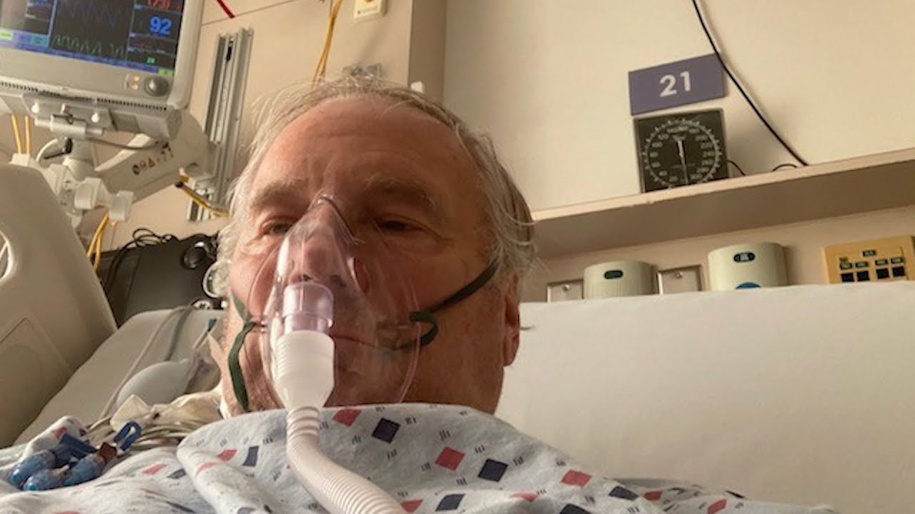 Former RCMP officer shares his battle with COVID-19 from ICU 1