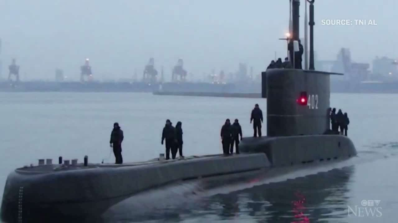 Frantic search continues for missing Indonesian submarine as oxygen supply runs low 1