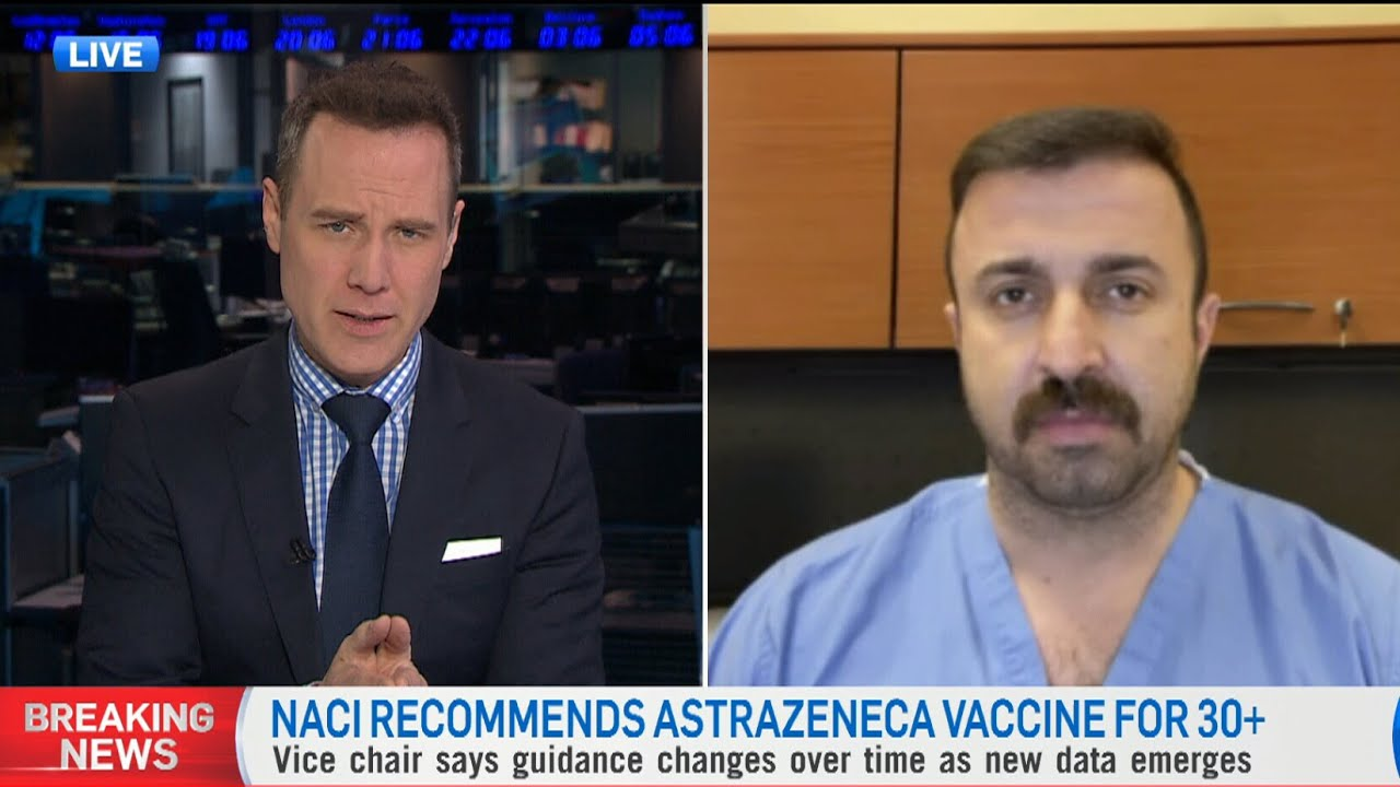 Doctor criticizes NACI's advice: 'We're talking about four blood clots in the entire country' 1