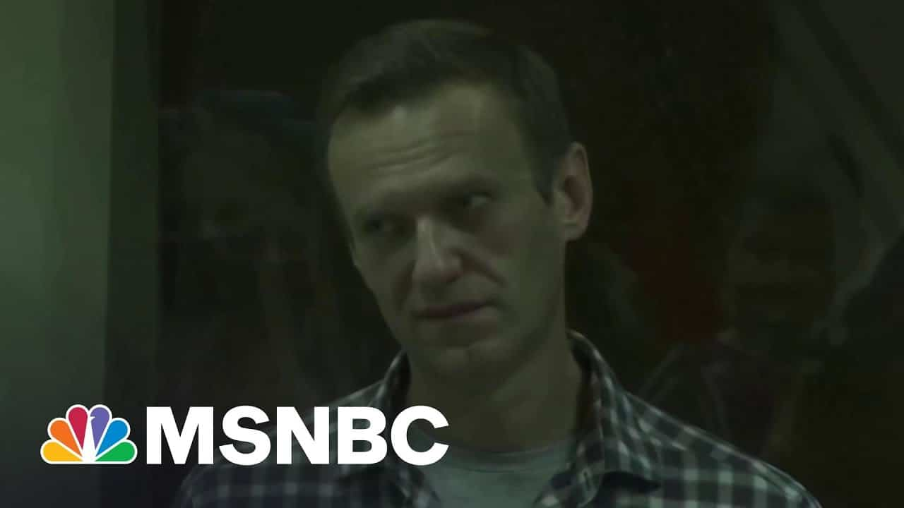 Navalny's Friend: 'We Are Watching A Person Dying In Front Of Our Eyes' | The Last Word | MSNBC 1