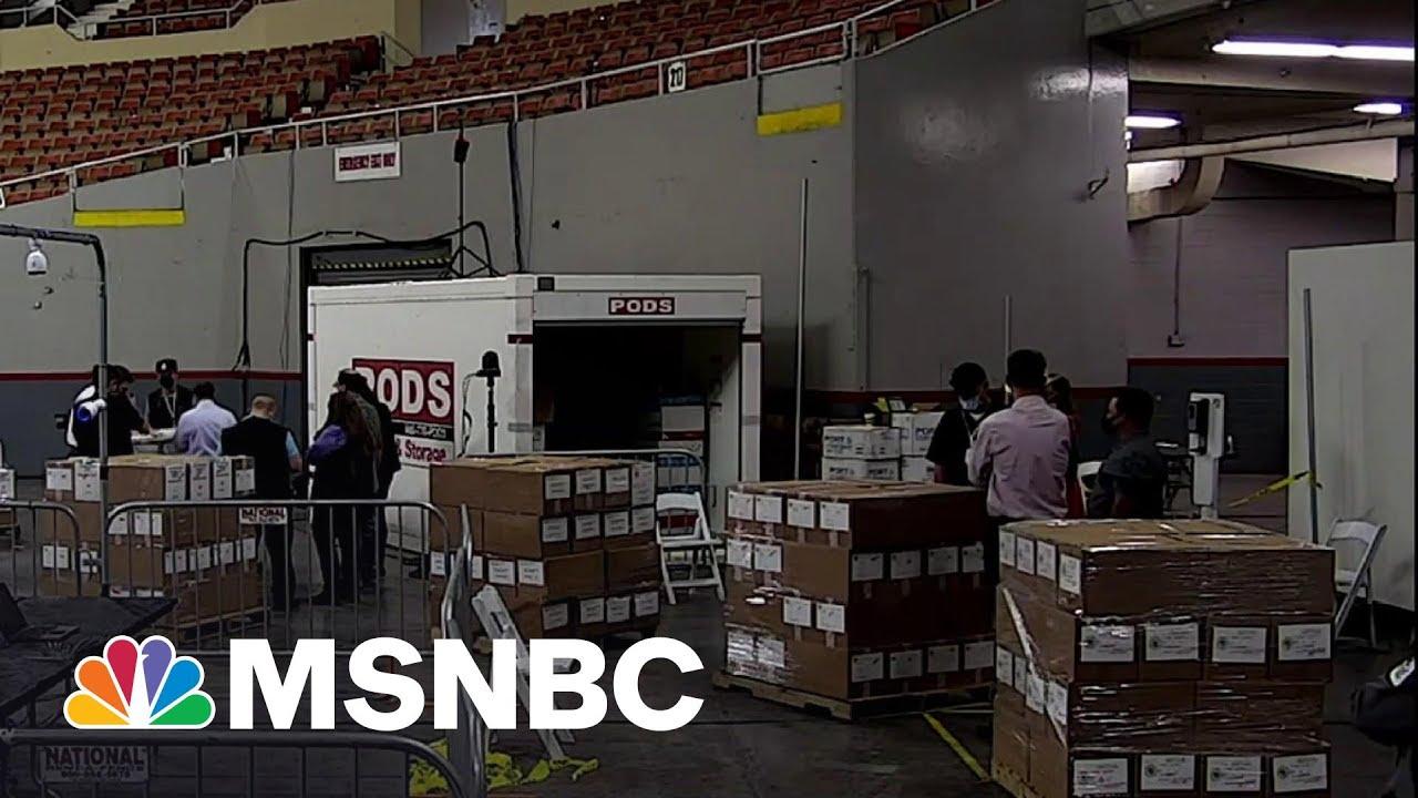 Arizona Republicans Embrace The Ridiculous Pursuing Recount For Trump | Rachel Maddow | MSNBC 1