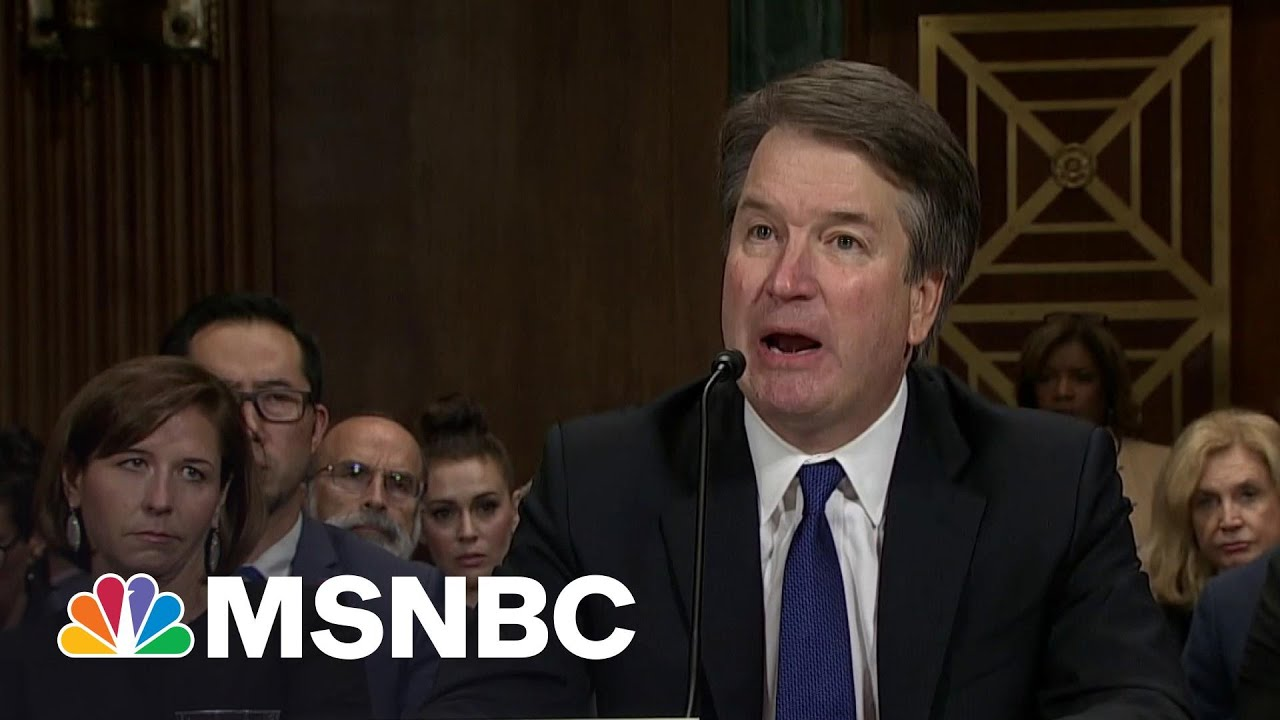 Kavanaugh An Ill-Considered Choice To Pen Ruling On Incorrigible Childhood Offenses   Rachel Maddow 3